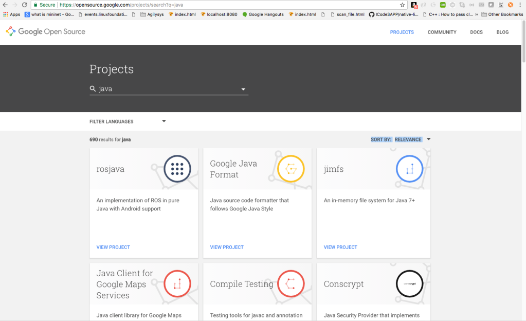 Notes On Google Open Source Projects – Sumit Arora