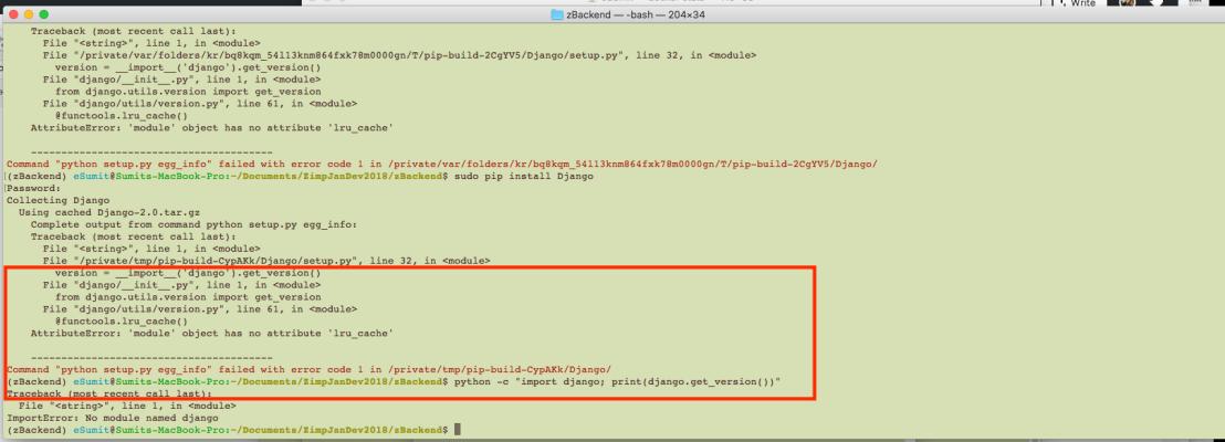 Notes To SetUp Python Dev Environment on My MacOs High Sierra Version10.13.1